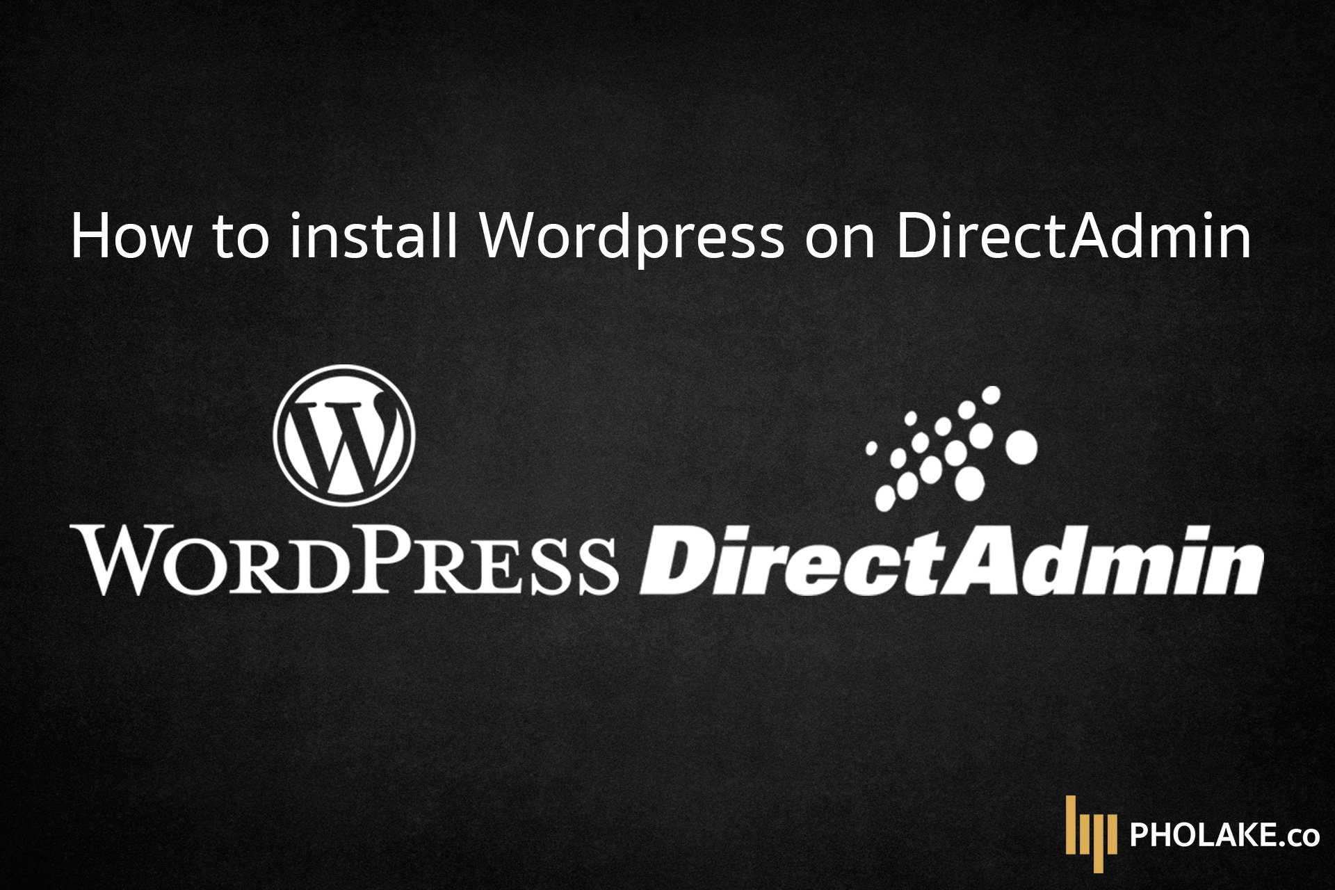 Install Wordpress Directadmin